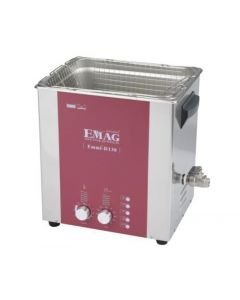 EMMI 130 D ultrasonic cleaner with stainless steel tank, digital, with fosset (Made in Germany!)