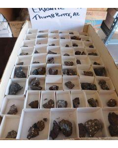 Erionite - K xls; Thumb Butte, AZ, USA, 1 flat