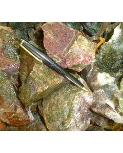 """Garnet, Diopside, Hematit (""""Langban colourful"""") Sweden, 1 kg"""