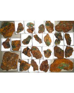 Adamite - (Cu) xx; Serpieri Mine, Kamariza, Laurion, GR; MM