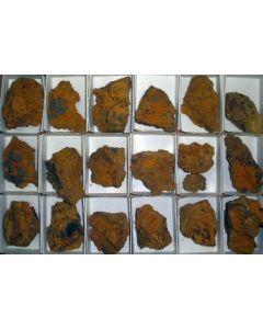 Bariopharmacosiderite xx; Glory Hole, Gold Hill, UT, USA; MM