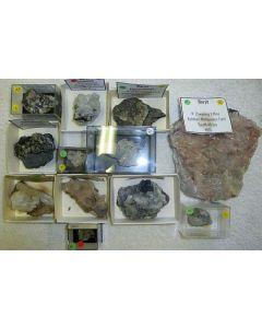 Barite xx; N' Chwaning Mine, Kalahari Manganese Field, Kuruman, RSA; HS