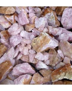 Rosequartz, Namibia, smaller pieces, 1000 kg