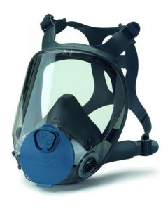 """Full head protection mask (gas mask) in size """"S"""" """"professional"""" with filter"""