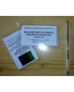 Hanneman bead buyer's & parcel picker's filter set