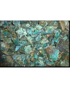 Chrysocolla with matrix, Morenci Mine, AZ, USA, 1 kg