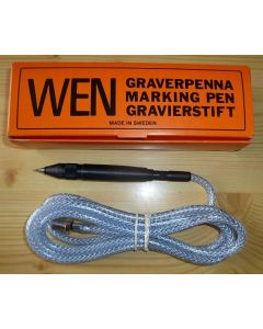 WEN (Chicago Pneumatic) Pneumatic Engraving Pen-Chisle with medium needle (made in Sweden!) #300-P2