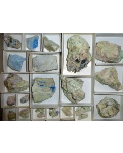 Junitoite xls; Christmas Mine, Gila Co., AZ, USA; MM