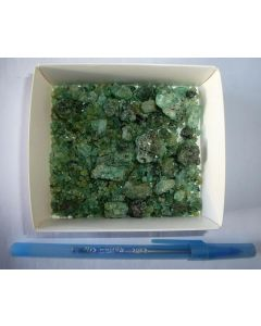 Emerald (medium size, gemmy), Tanzania, 10 g