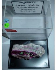 Magnesite - (Co) xx; Mashamba West Mine, Shaba, Dem. Rep. Congo; NS
