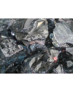 Obsidian; Gyumush-Dzhraber-Fantan, Armenia; MM