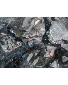 Obsidian; Gyumush-Dzhraber-Fantan, Armenia; NS