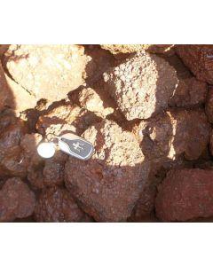 Oolitic iron ore (iron oolite), Zambia, 100 kg