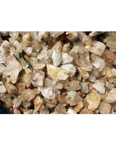 Mountain Quartz (Lodolite), clear pieces, Zambia, 100 kg