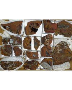 Talmessite xx; Gold Hill Mine, Tooele Co., UT, USA; NS