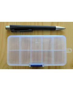 set case (small) with 10 compartments