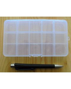 set case (small) with 15 compartments