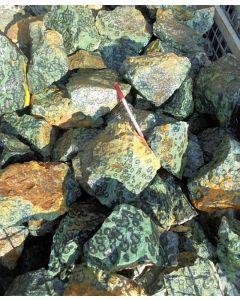 Cabamba-Jaspis (Oolitic Hornblende, Stromatolite, Eldarite), Madagascar, 100 kg