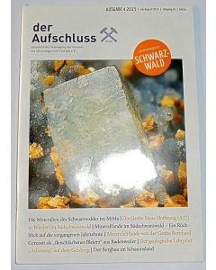 Der Aufschluss, German mineral peridocal (241 issues, app. 30 volumes)