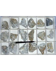 Norbergite xls (UV), Franklin Marble Quarry, NJ, USA, 1 flat