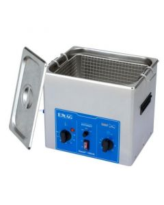 EMMI 100 HC ultrasonic cleaner with stainless steel tank, digital, with fosset (Made in Germany!)