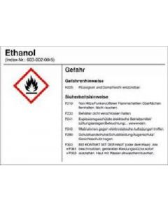 Alcohol, ethyl alcohol, disinfection detergent, technical grade 1 l