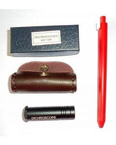 Prismatic dichroscope