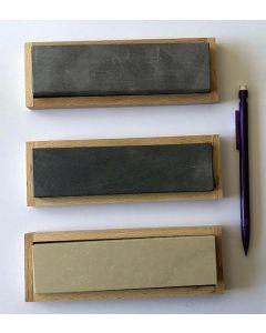 Belgian Whetstone Combination, 4 x 15 cm, 4000 + 8000 grid