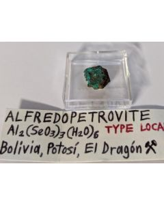 Alfredopetrovite xx; El Dragon Mine, Potosi, Bolivia; MM