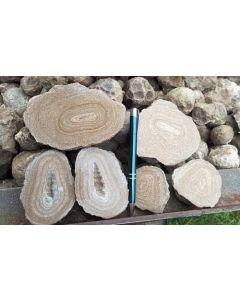 Aragonite, Eichelberger nodules, Austria, 1 kg