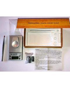 Electronic pocket carat scale 50g / 0.001g