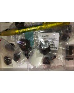 Hematite, kidney ore, Knollengrube, Harz, Germany, 1 lot