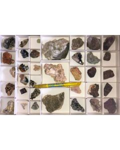 Mixed minerals from Namibia, 1 flat