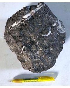 Sphalerite; Grube Wiemannsbucht, Bad Grund, Harz, D; MS