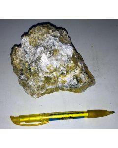 Lizardite, Hydrotalcite, Szaibelyite, Martite, Hematite; Snarum, Norway; HS