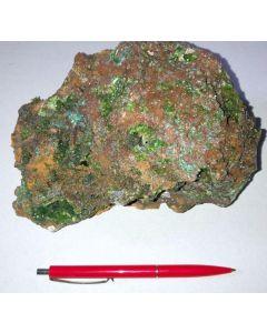 Smithsonite xx (green!); Barbara Mine, Laurion, Greece; GS