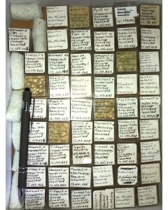 Mixed minerals from Sauerland, Germany, 1 lot of 53 pieces.