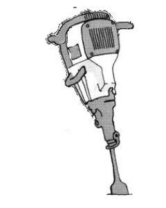ATLAS COPCO Cobra Combi drill and chipping hammer
