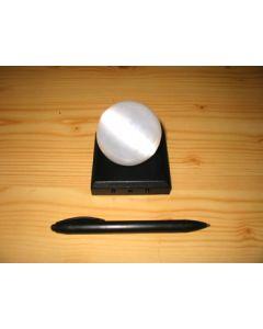 LED base, 03 LED, angular, black, 10 pieces