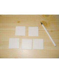 Line panel - streak plate, white