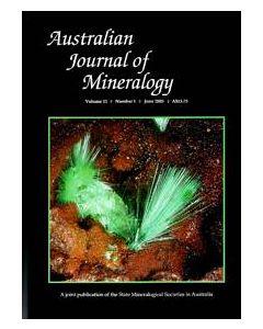 Australian Journal of Mineralogy Vol. 11, #1 2005
