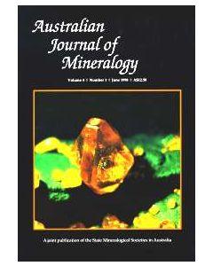 Australian Journal of Mineralogy Vol. 04, #1 1998