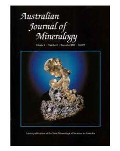 Australian Journal of Mineralogy Vol. 08, #2 2002