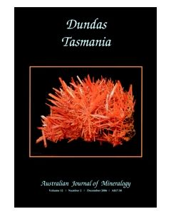 Australian Journal of Mineralogy Vol. 12, #2 2006