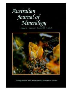 Australian Journal of Mineralogy Vol. 13, #2 2007