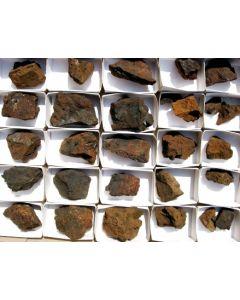 Chalcophanite xx + Pyrolusite xx, Laurium, Greece, 1 flat