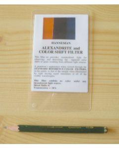 Hanneman Alexandrite and color shift filter