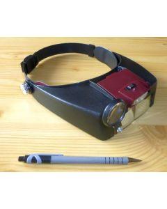 LED-headlense, binocular MIKON (WEEE-Reg.-Nr. DE 75181174)