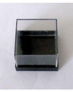 Micromount-box, black base, 1 bag (100 pcs.)