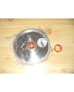 "Diamond wheel, 1"" width, 6"" diameter, grain 0180"
